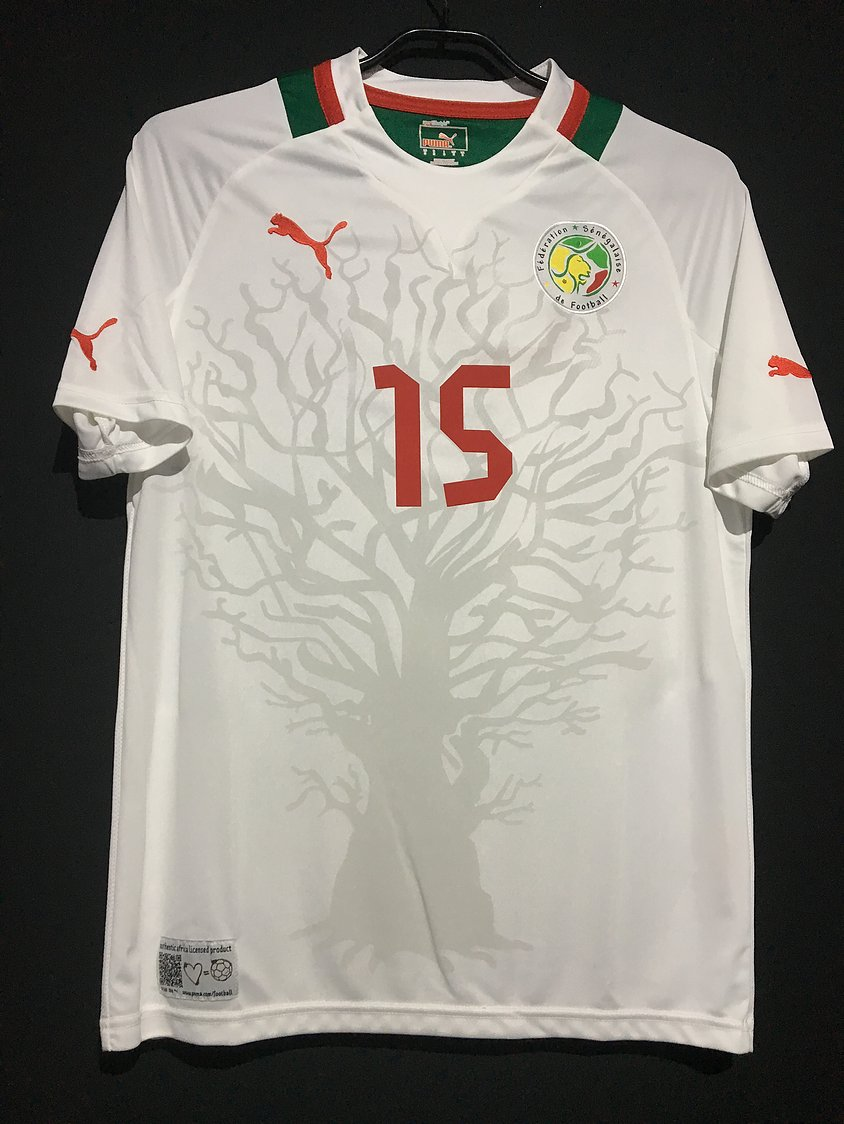 2012-13セネガル代表ホームユニフォーム