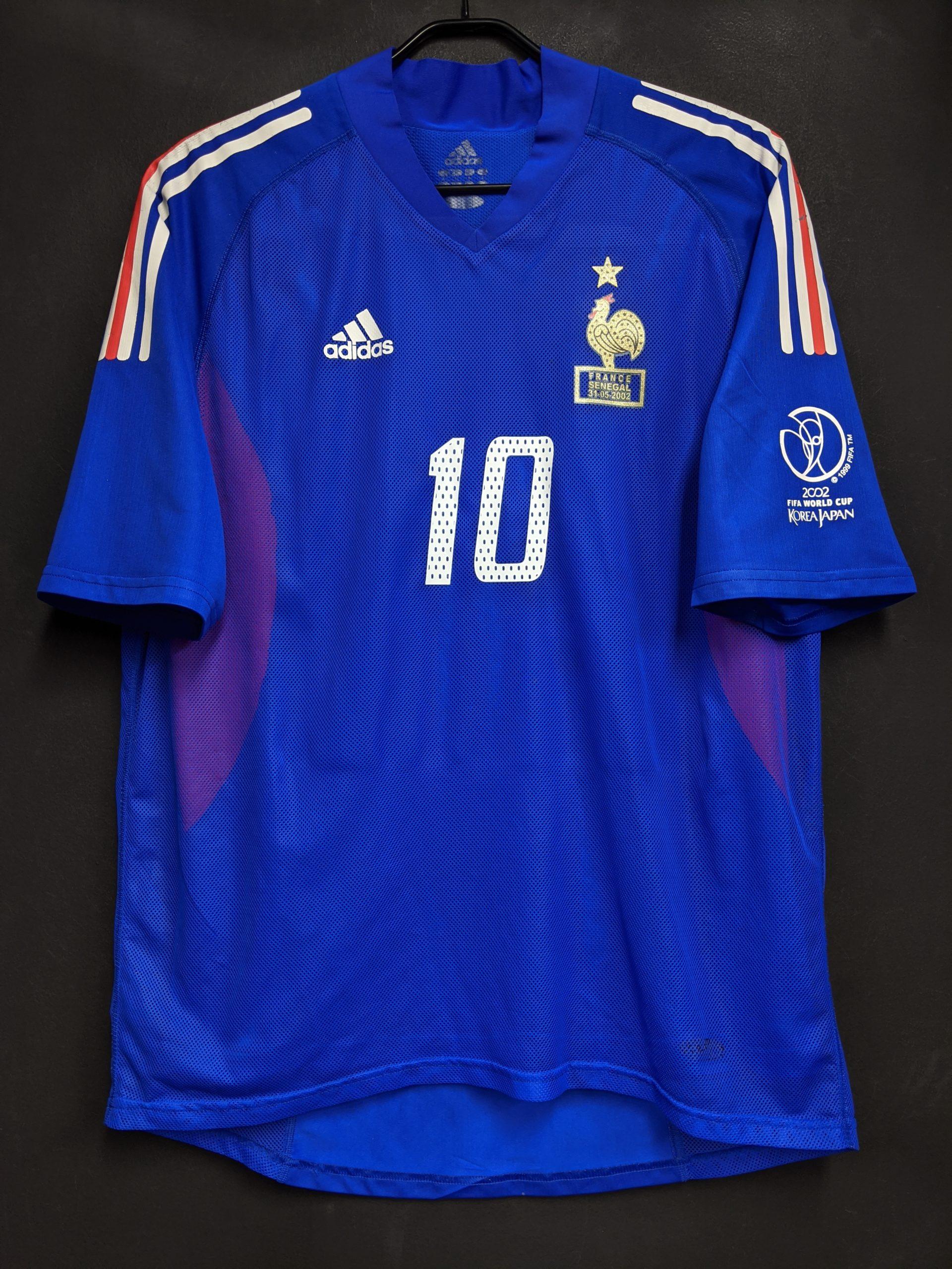 2002年フランス代表ワールドカップモデルの選手用モデル