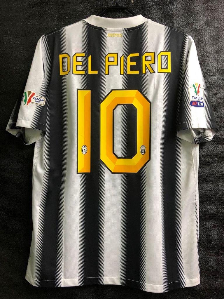 デル・ピエロの2011-12ユベントスユニフォーム