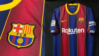 バルセロナ2020-21ホームユニフォーム