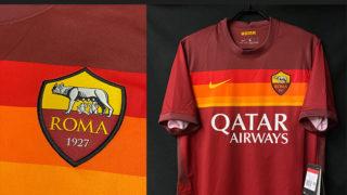 ASローマ2020-21ホームユニフォーム
