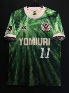 93-94ヴェルディ川崎のユニフォーム