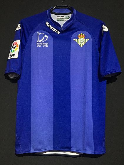 2007-08レアルベティス100周年ユニフォーム
