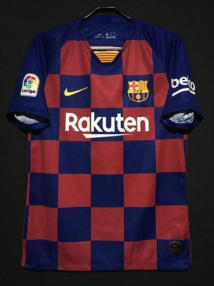 2019-20バルセロナホームユニフォーム