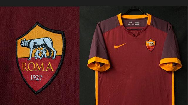 ASローマ2015-16シーズンホームユニフォーム