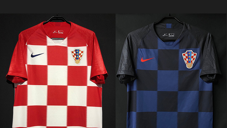 2018-19クロアチア代表ユニフォーム